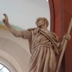 The young bishop Patrick, missionary