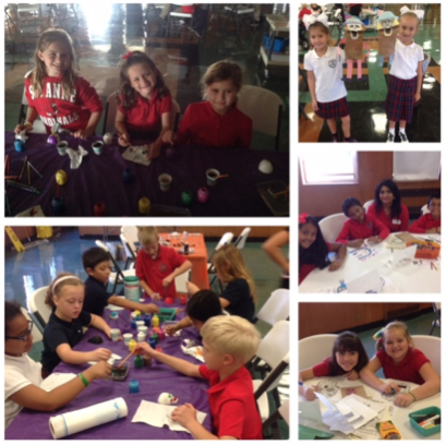 "On Tuesday, 10/18 the St. Anne 3rd grade visited St. Frances of Rome for a day of activities in relation to the ""Day of the Dead"" celebration which hold great significance in Hispanic culture. It was a fun-filled day learning about their friends at St. Frances as well as their culture."