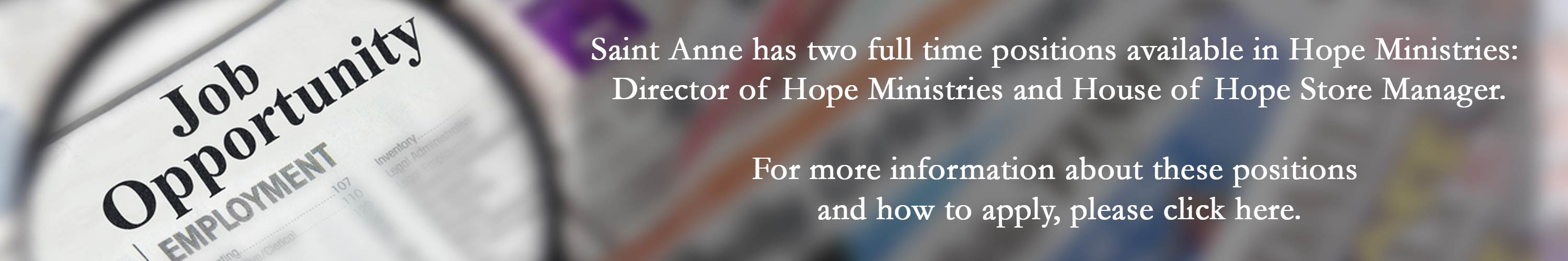 hope-ministry-job-opportunities